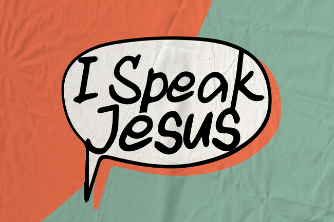 I Speak Jesus – Different